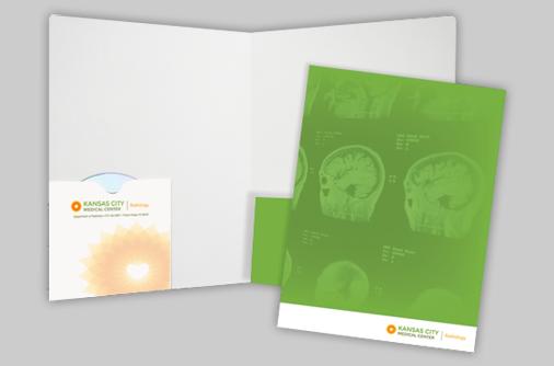 CD Presentation Folder