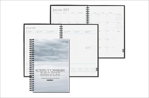 custom designed calendars with logo