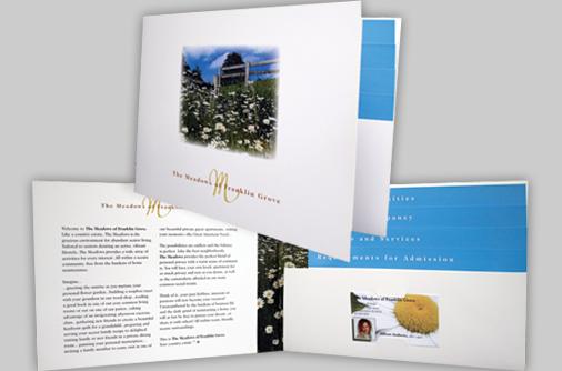 custom designed landscape folders
