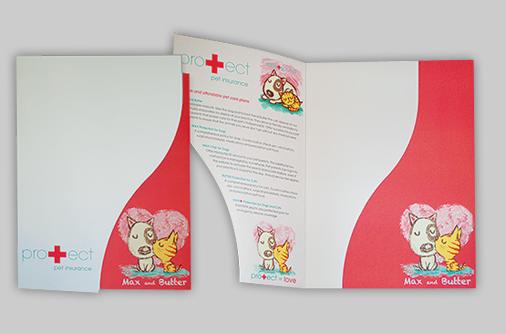 custom designed serpentine folders