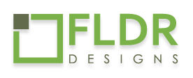 fldr graphic designers logo