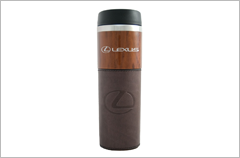 14 oz alta woodgrain tumbler with sleeve