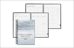 5-x-8 glossy full color time manager weekly and monthly
