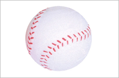 baseball stress reliever ball