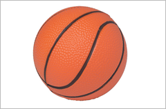 basketball stress reliever ball
