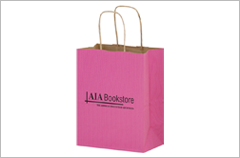 breast cancer awareness paper bags
