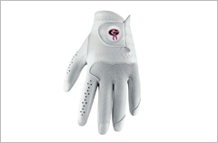 breast cancer awareness pink ribbon golf glove