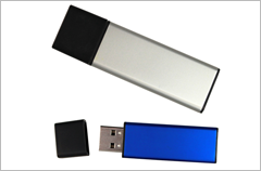 custom designed aluminum usb drives