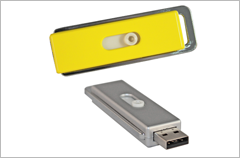 custom designed quick slider usb drives