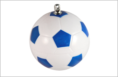 custom designed soccer ball usb drives