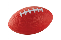 football stress reliever ball