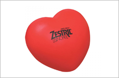 heart stress reliever ball