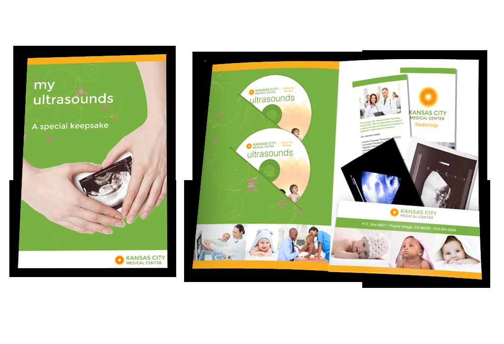 Ultrasound Keepsake Folders