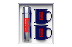 midnight blue hampton to go mugs gift set