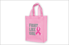 non woven breast cancer awareness bags 2