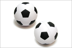 soccer ball stress reliever ball