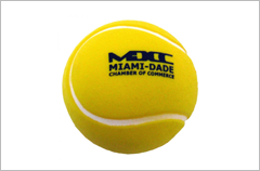 tennis ball stress reliever ball
